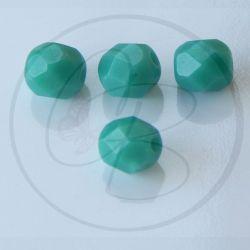 20 Pz Perle Cristallo fire polish Milky lt green (verde) 6 mm