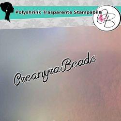 1 Foglio POLYSHRINK Stampabile trasparente 267x203