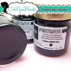 Pentasol UN Nero 001 30 ml PROCHIMA Colorante per resina