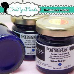 Pentasol UN Blu 001 30 ml PROCHIMA Colorante per resina