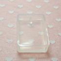 Stampo in silicone per  pendente rettangolare per resina