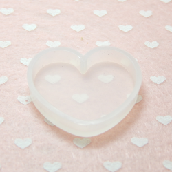 Stampo in silicone Cuore per resina