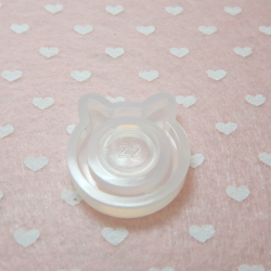 Stampo in silicone Anello Orecchie Gatto per resina