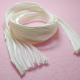 10 Cm Nastro Seta Shibori colore Bianco
