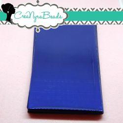 20 Pz Sacchetto regalo cellophane Blu autoadesivo 18x9 cm