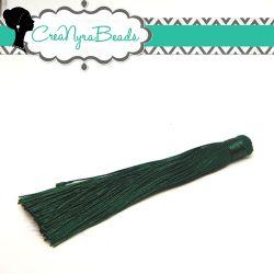 Nappina Verde Smeraldo  13 cm in poliestere  - 1 pezzo