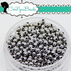 30 pz Sfera Perla in Acciaio inossidabile Ø 5 mm