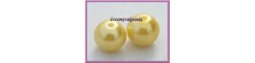 Perle Vetro cerato 8 mm