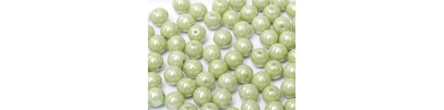 Perle ceche 6 mm